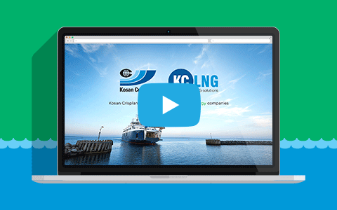 image of a screen with a KC LNG video frame
