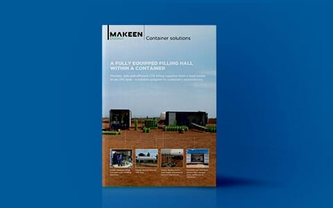 image of container solutions brochure