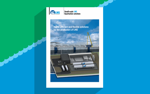 image of KC LNGs brochure: LNG liquefaction solutions