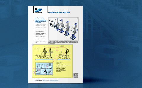 image of productsheet: Kosan Crisplant's Compact filling systems