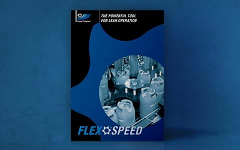 Brochure cover of FLEXSPEED – The powerful tool for lean operation