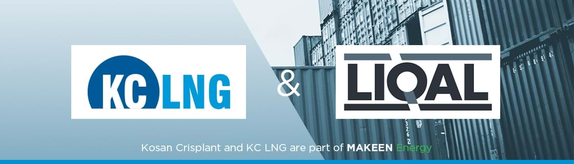 image with logos of KC LNG and LIQAL
